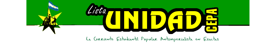 Lista Unidad - FCEyN - UBA