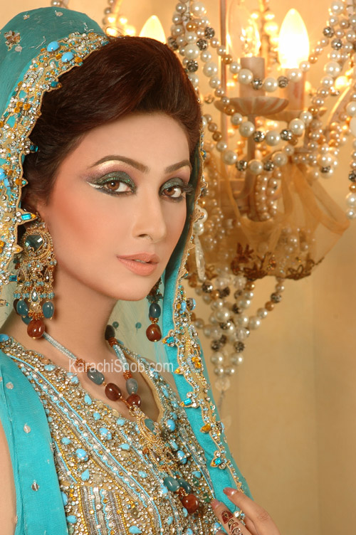 Pakistani Bridal Eye Makeup - ISTYLE 360