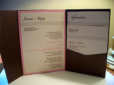 Our semi DIY Invitations photo 3