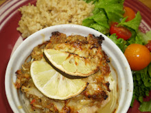 Mahi Mahi w/ seafood stuffing finished product