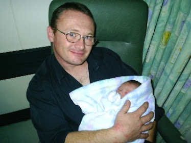 John & Edward at 40 mins old