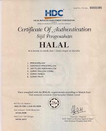 SIJIL HALAL HDC