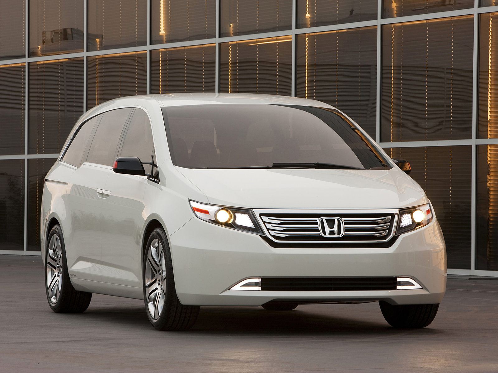 POWER VEHICLE Modified Car HONDA Odyssey Concept 2010