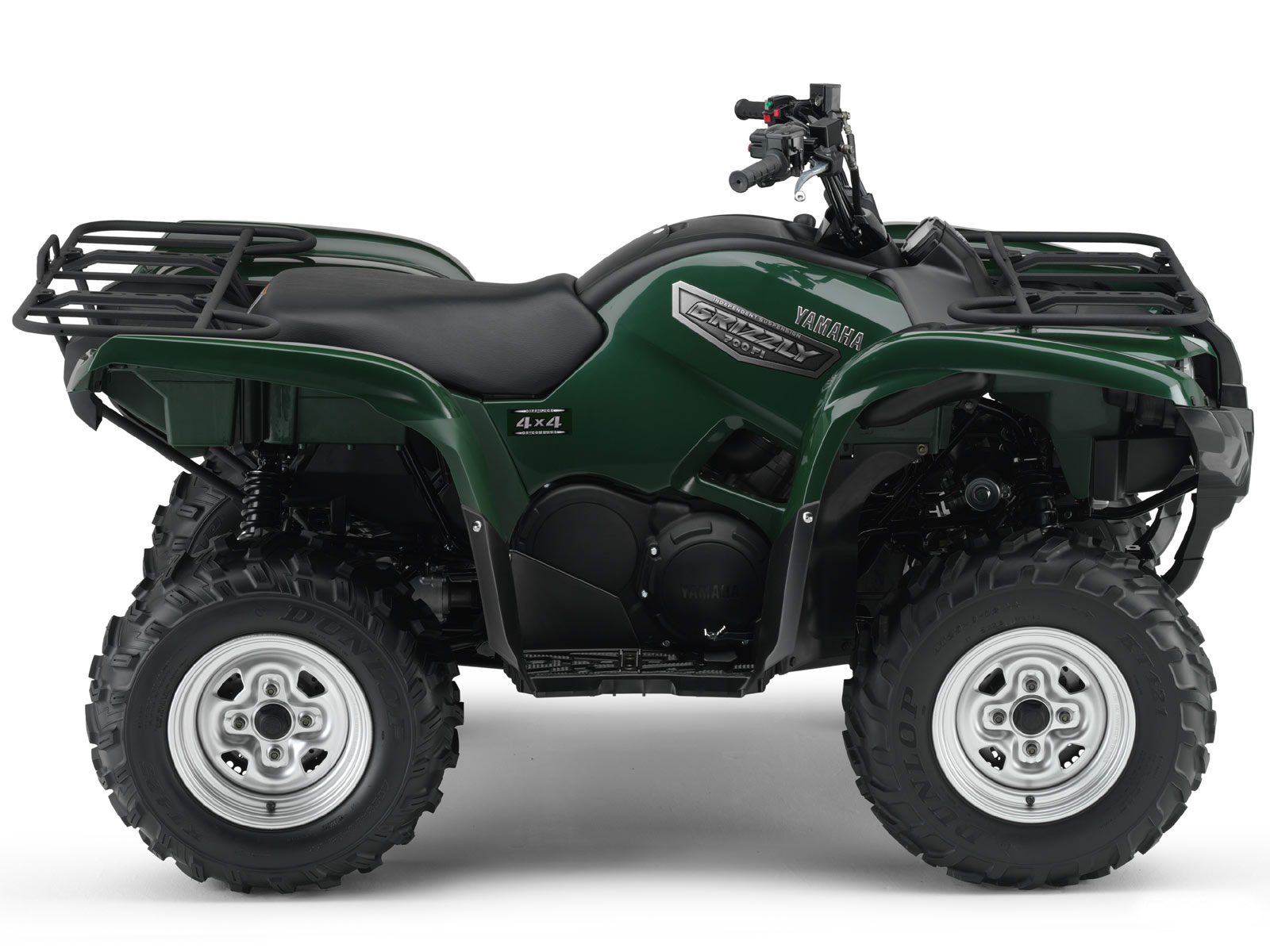 2007 yamaha grizzly 700 fi 4x4 automotic wallpapers