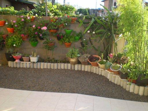 decoracao muros jardim:Mundo de Cissa: Jardim Vertical