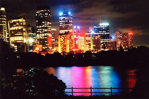 colorful city lights colorful background wallpapers