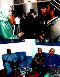 Aktivitas Sosial-Politik Marissa Haque bersama Kader PPP dan PAN Lamsel 2010