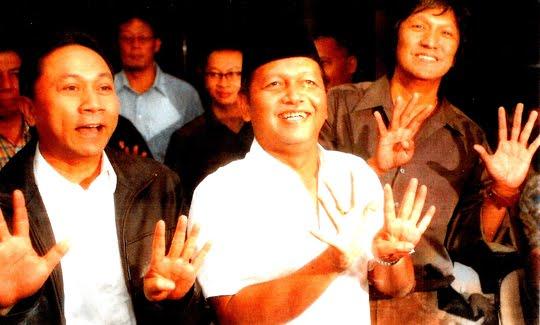 Menhut Zulkiefli Hasan, Mantan Ketum PAN Soetrisno Bachir, Kader PAN Ikang Fawzi