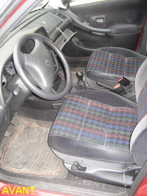 Prestige car wash peugeot 306 nettoyage int rieur for Interieur 306
