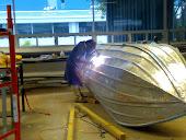 Herreria, Soldaduras especiales en inoxidable y aluminio.