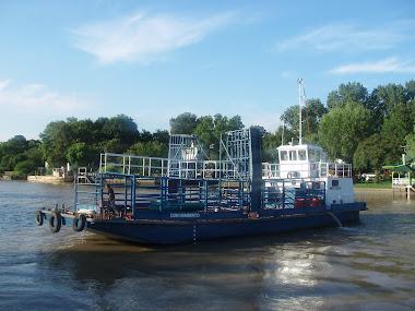 Responsable de alistamiento final y entrega del buque baqueano DON HUMBERTO