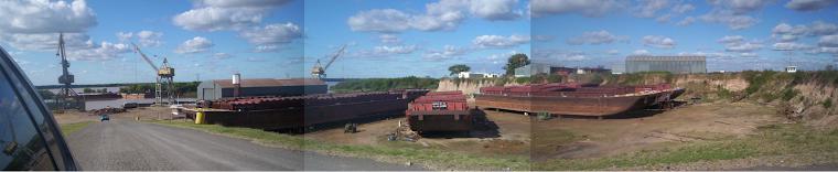 Reparacion de Barcazas en Ramallo.