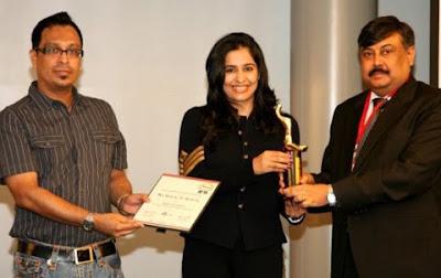 Rajita Chaudhuri's Award