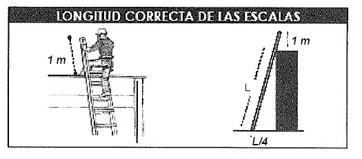 Segunda compa ia pompa italia uso de escalas portatiles for Escala o escalera