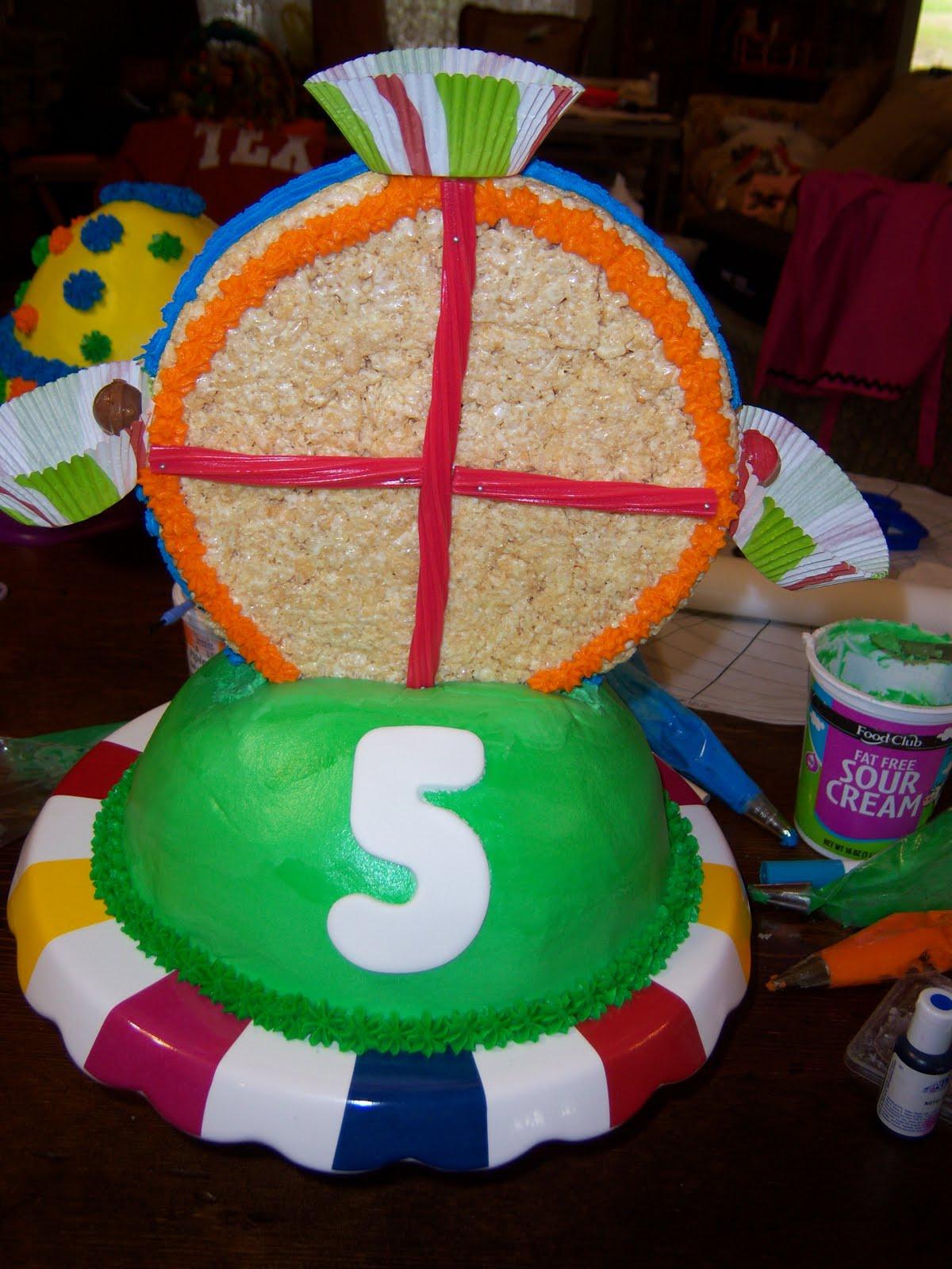 Salt City Sweets Nathans Carnival Ferris Wheel Cake