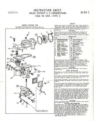 m151a1 wiring diagram ajuste de motor despiece carburador solex 32 pdsit  1964 67   ajuste de motor despiece carburador solex 32 pdsit  1964 67