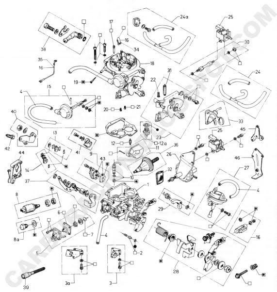 ajuste de motor  despiece carburador brosol 2e7 y 3e