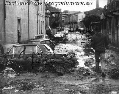 MENTRE GUARDAVO A NORD (Racconto nell'alluvione del 29 ottobre 1985 a Roccalumera)
