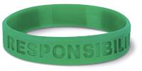 Responsibility wristband