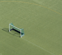 Empty goal, photo by henning via Flickr