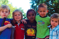 Picture of a racially diverse group of VERY cute kids