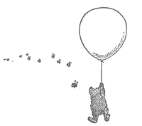 In which Pooh decides to imitate a cloud in order to trick the bees into not realizing that he is after their honey.