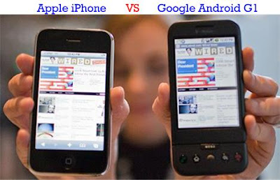 iPhone vs Android G1
