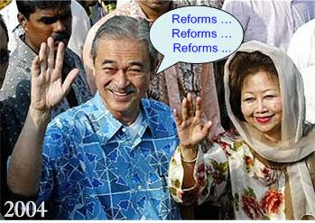 Badawi 2004's Reform Promises