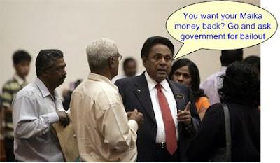 bailout mic maika