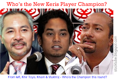 UMNO Keris Player Champion