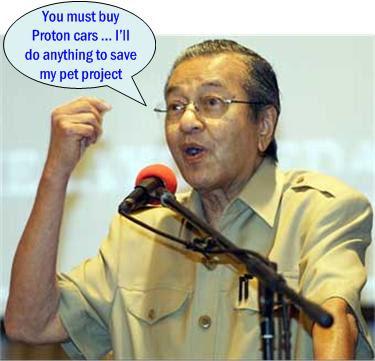 Mahathir Proton pet project