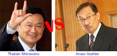 Thaksin vs Anwar