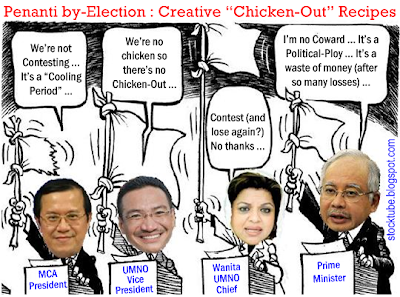 Penanti BN Chicken Out