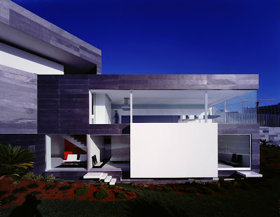Elcroquis architecture for Casa de lujo minimalista y espectacular con piscina por a cero