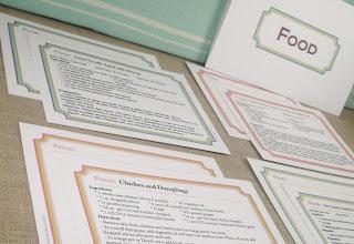 editable pdf recipe cards new design so handy whisker graphics