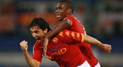 skor AS Roma vs Lecce