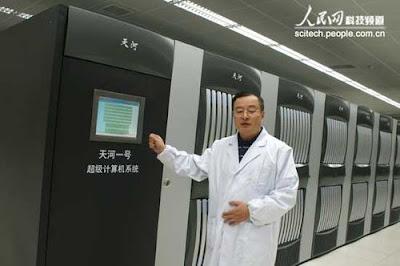 tianhe-1 komputer tercepat di dunia