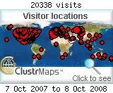 Visitor Map Archive