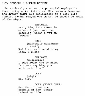 fake script for fake drugs show