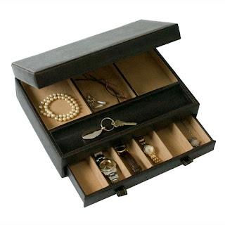 Boite de rangement rangement pour les bijoux boite - Boite de rangement bijoux ...