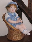 BABY CHERI:   50 cm;   Prix: 100 €