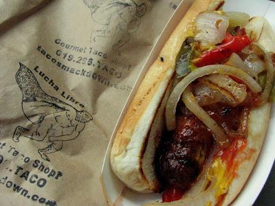 Tijuana Hot Dog San Diego