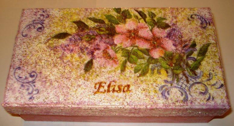 Super Creazioni di Letizia: scatole decorate SZ16
