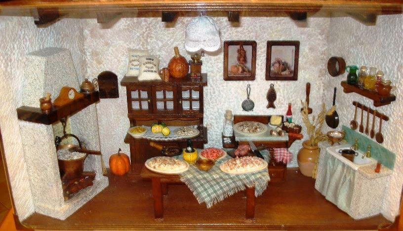 Creazioni di Letizia: Cucine in miniatura.