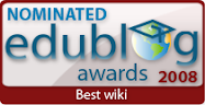 Wiki Nominated for 2008
