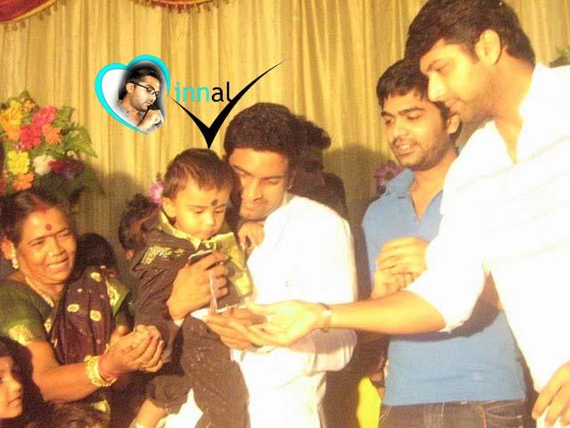 Santhanam Son Birthday MINNAL SIMBU FA...