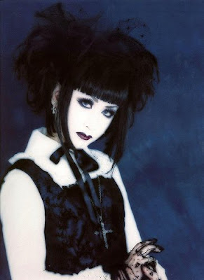 Gothic Hairstyles, goths haircut, goths hairstyle