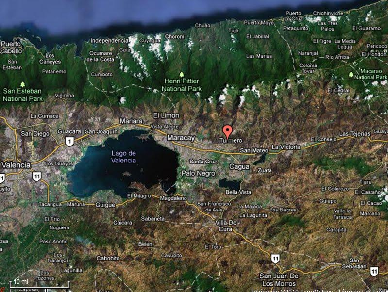 TURMERO HISTORIA HUELLAS Y TESTIMONIOS UBICACION DE TURMERO