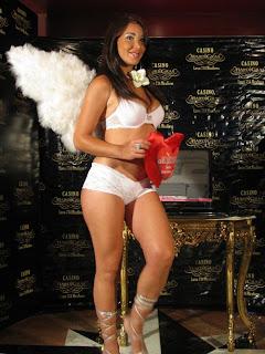 Vanessa Tello Lizeth Campano Danuska Zapata Desfile de lenceria en casino