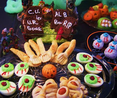 Halloween Recipes Treats For A Perfect Spooky Party New